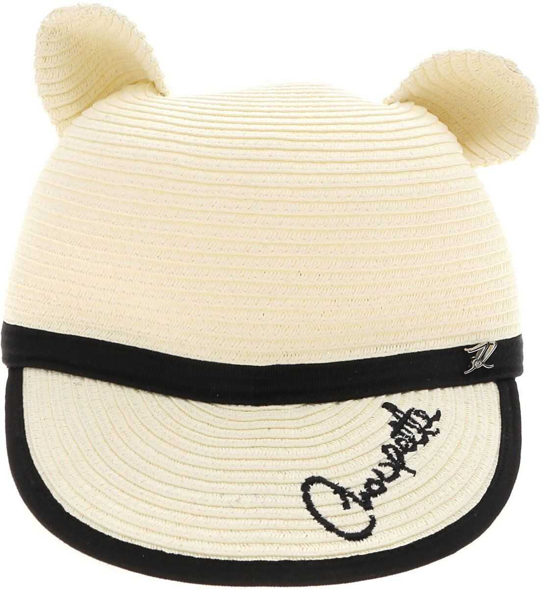 Karl Lagerfeld Choupette Hat In Butter Color Cream