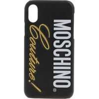 Huse mobil & tablete Moschino Couture Iphone X Cover In Black Femei