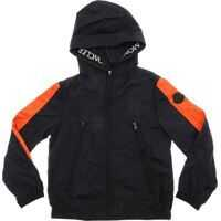 Jachete Masserau Jacket In Black And Orange Baieti
