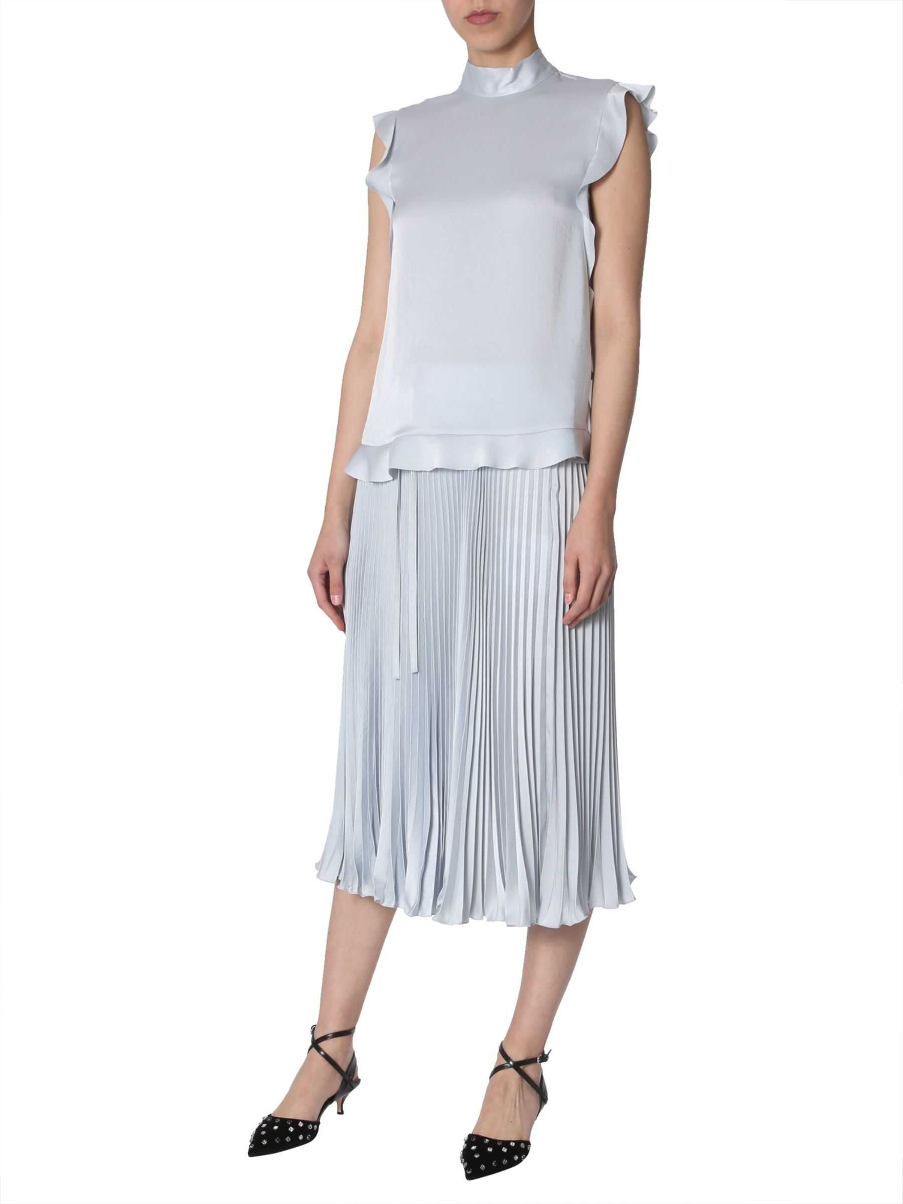 Ruched Trim Top