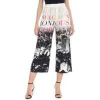 Pantaloni casual Elisabetta Franchi City Printed Crop Trousers