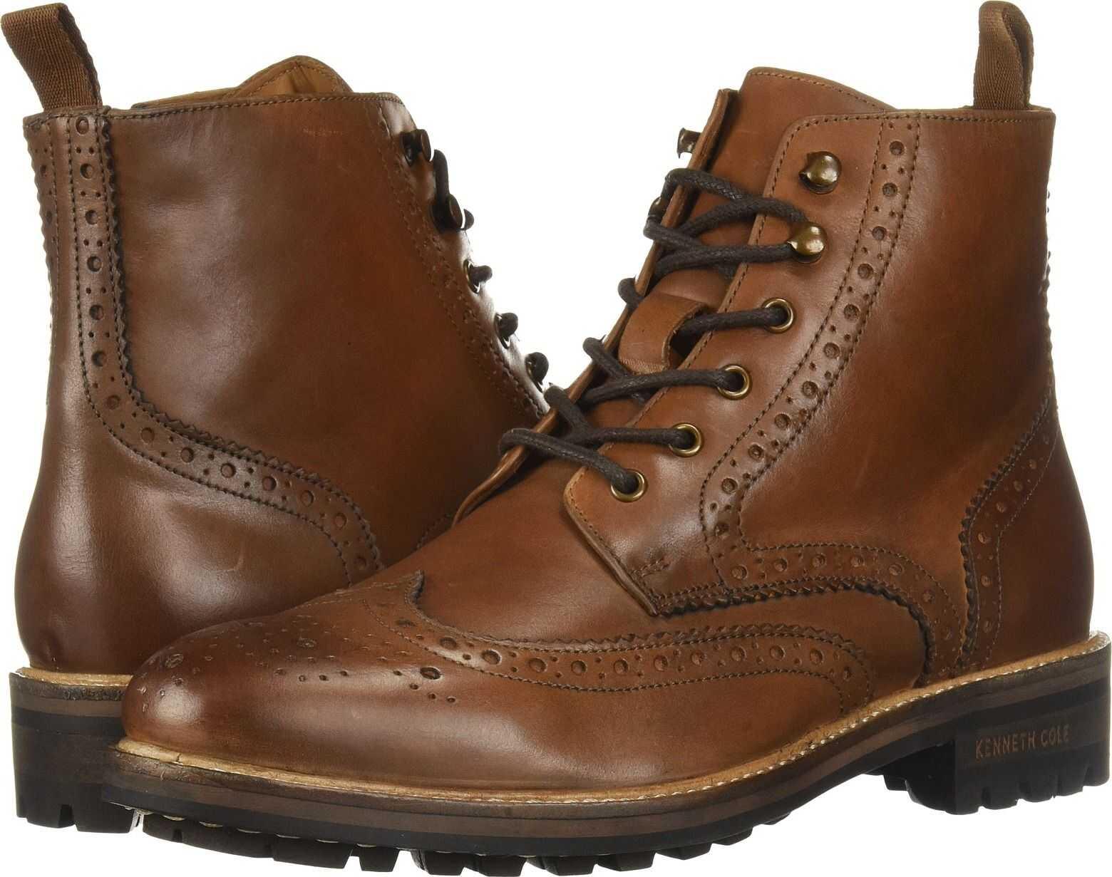 Kenneth Cole New York Maraq Lug Boot Cognac