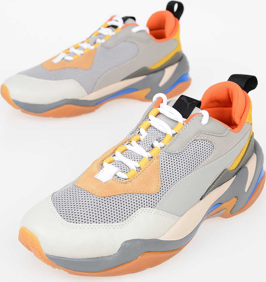 PUMA Fabric and Leather THUNDER SPECTRA Sneakers MULTICOLOR