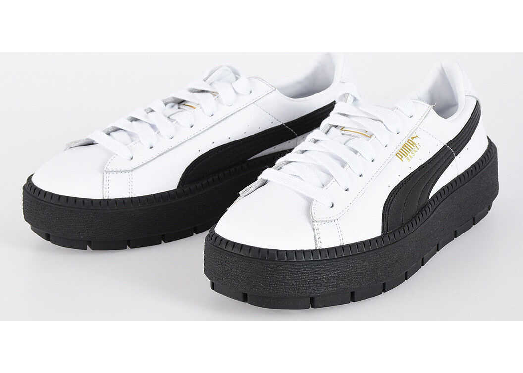 PUMA Leather TRACE PLATFORM Sneakers N/A