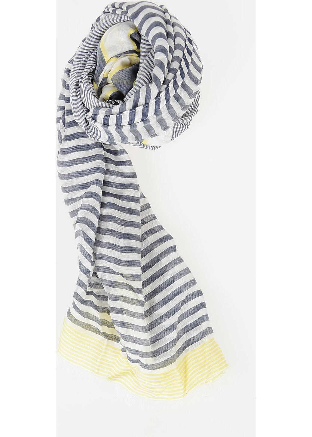CORNELIANI CC COLLECTION 180x55cm Striped Foulard N/A