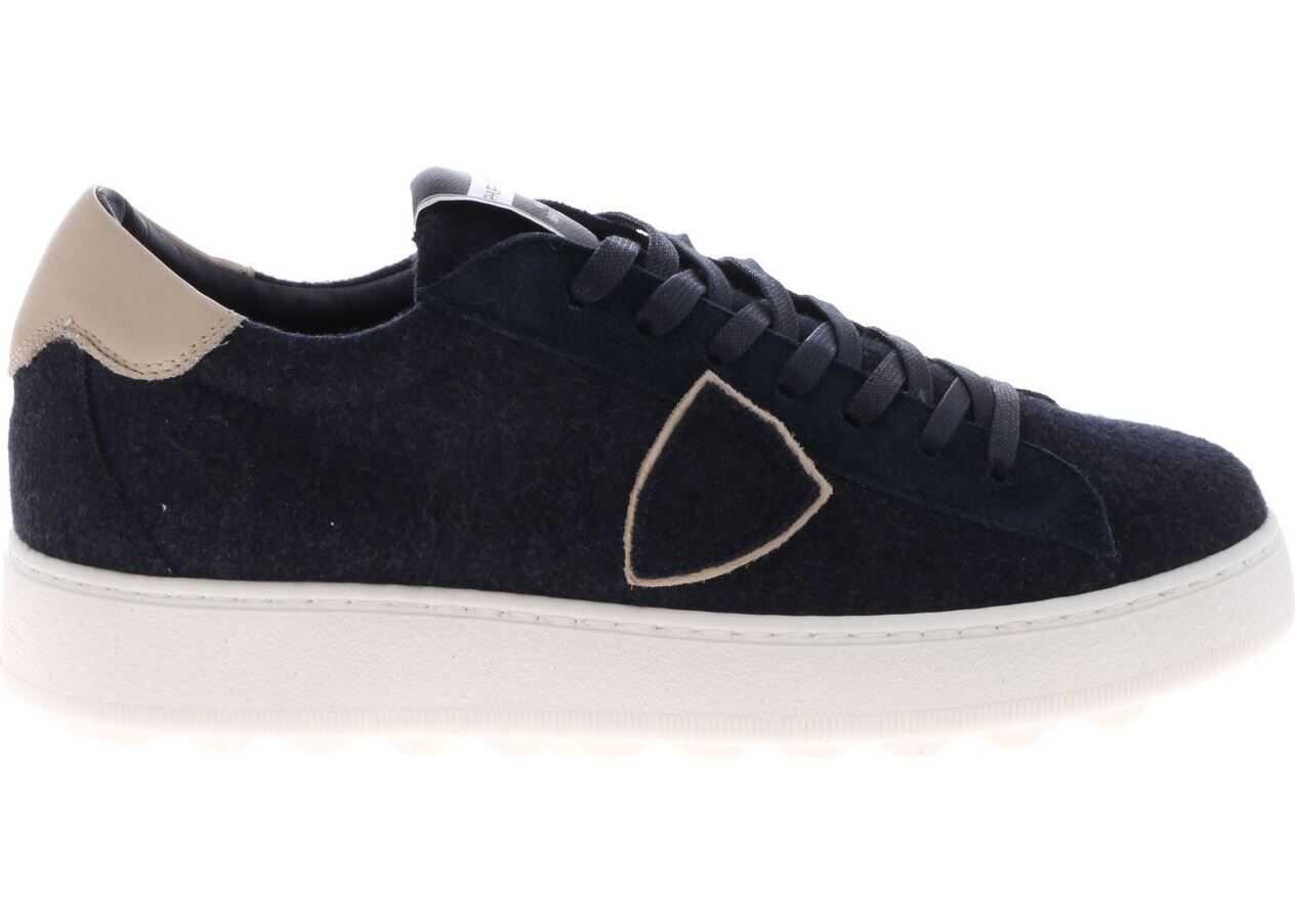 Philippe Model Madeleine L Sneakers In Blue Blue