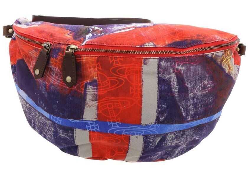 Genti tip postas Dama Vivienne Westwood Multicolor Albert Xl Belt Bag