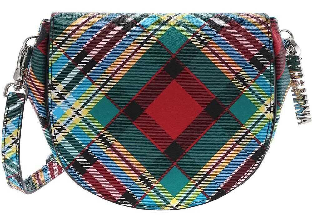 Genti tip postas Dama Vivienne Westwood Anglomania Multicolor Shuka Tartan Bag