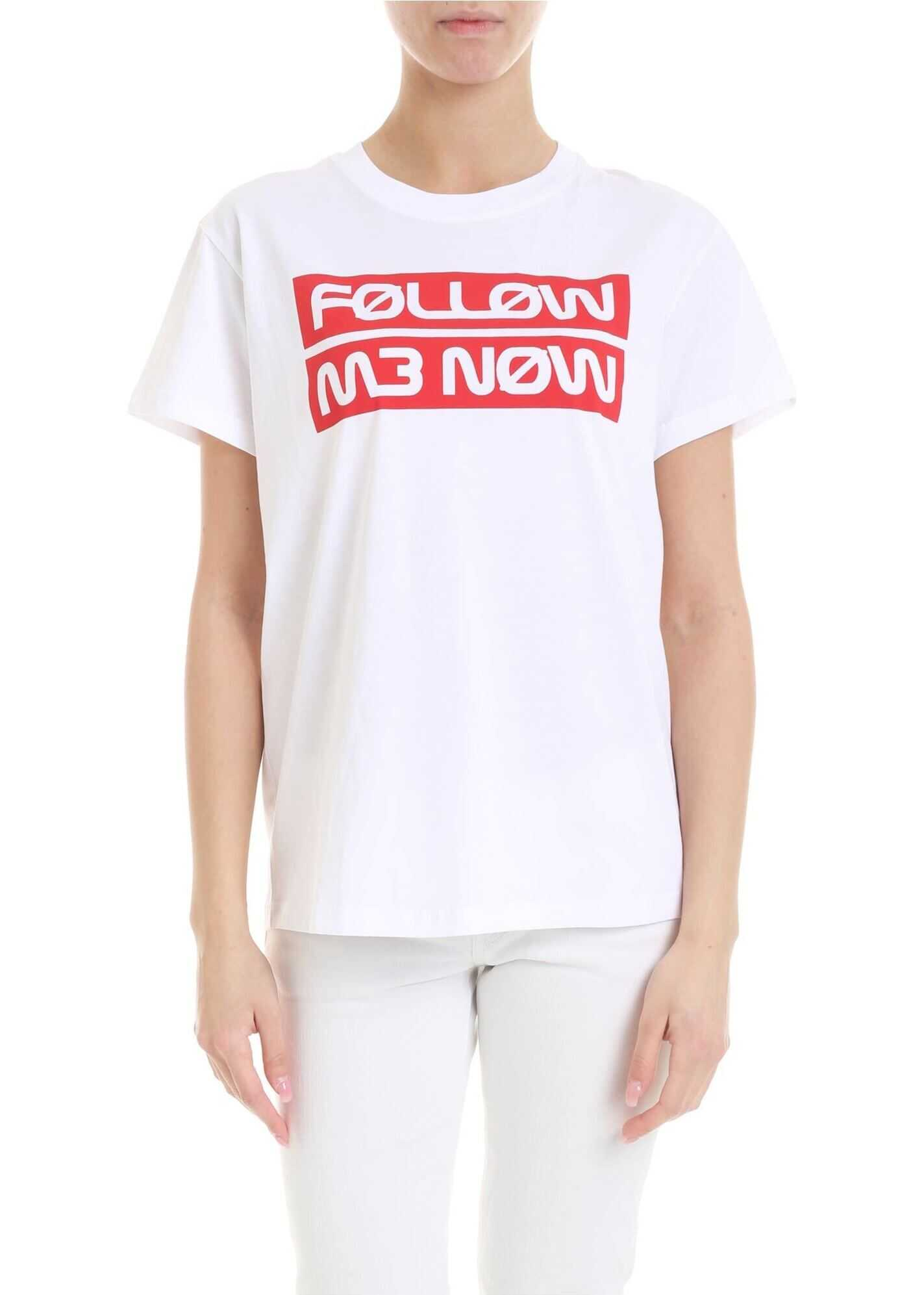 Follow Me Now T-Shirt In White