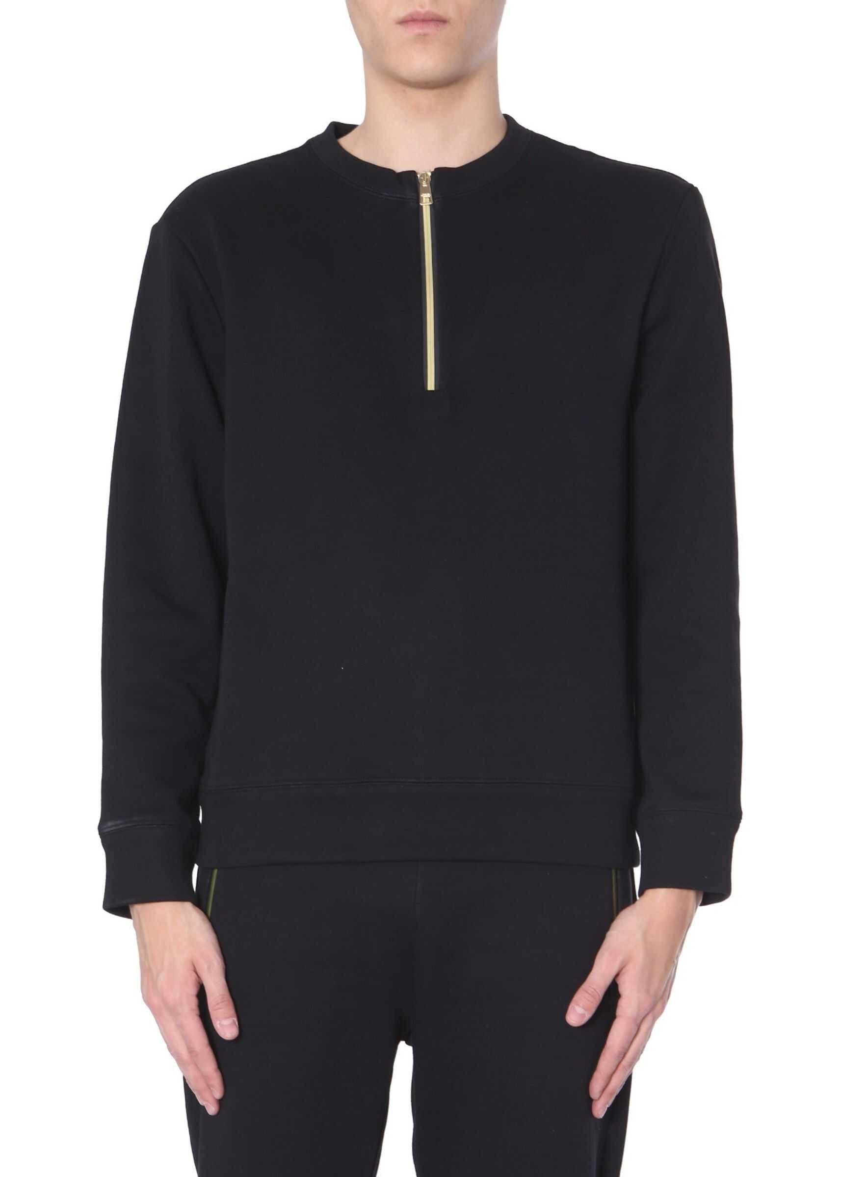 Versace Collection Crew Neck Sweatshirt BLACK