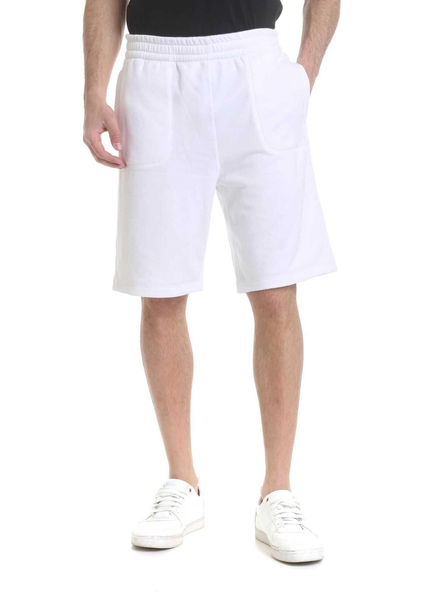 Reversible Bermuda In White