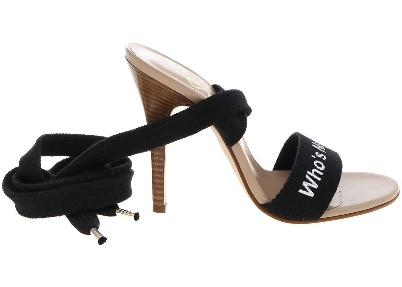 Vivienne Westwood Holiday Sandals In Gray And Black Black