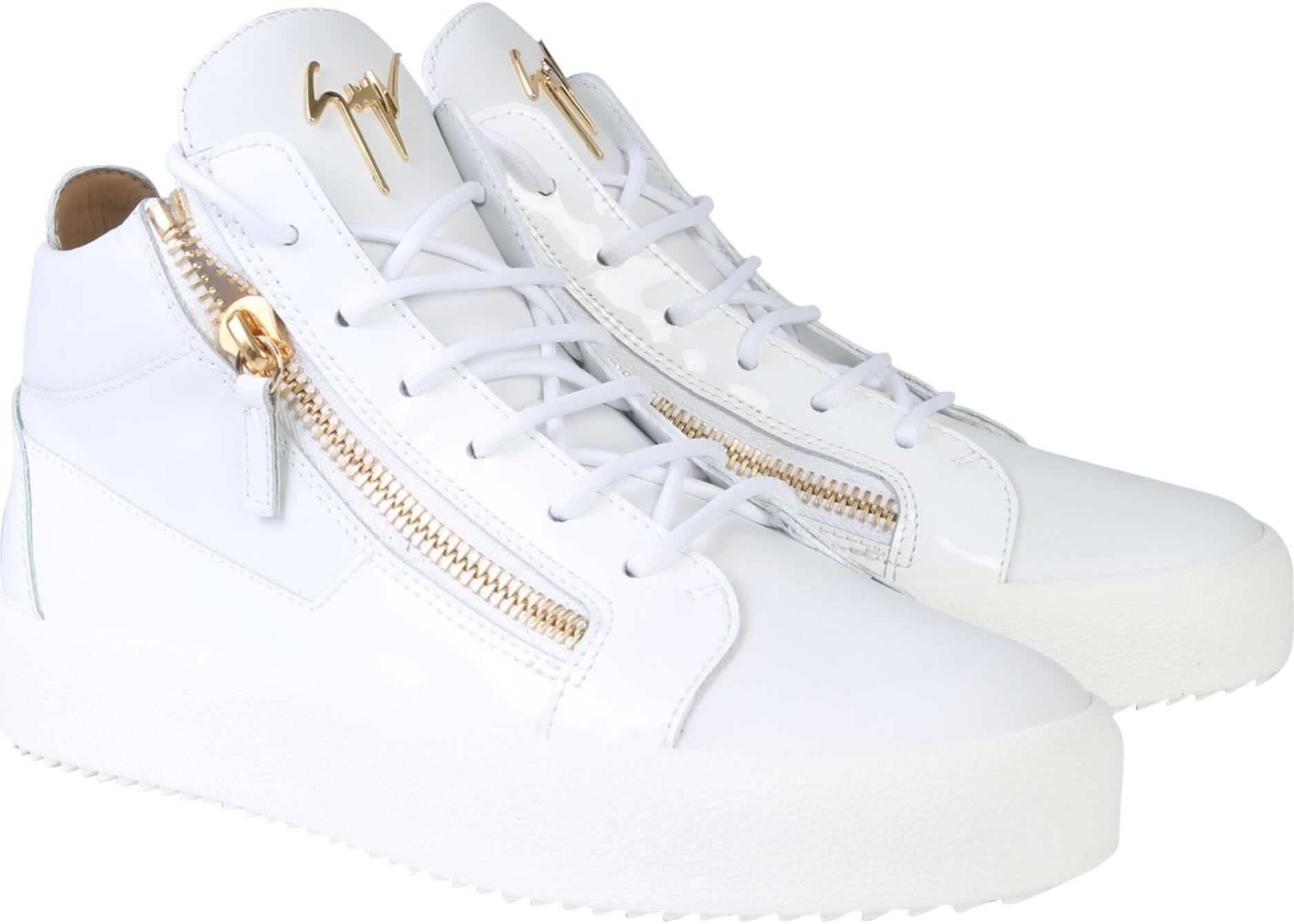 Giuseppe Zanotti Kriss Sneakers WHITE