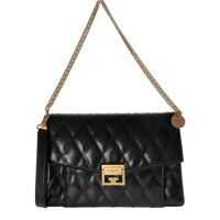 Genti de Umar Gv3 Medium Bag In Black Leather Femei