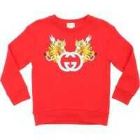 Bluze Gucci Sweatshirt In Red With Logo Print