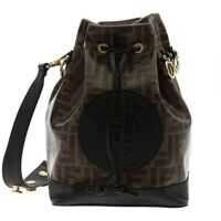 Genti de Mana Fendi Mon Tresor Bucket Bag In Brown Femei