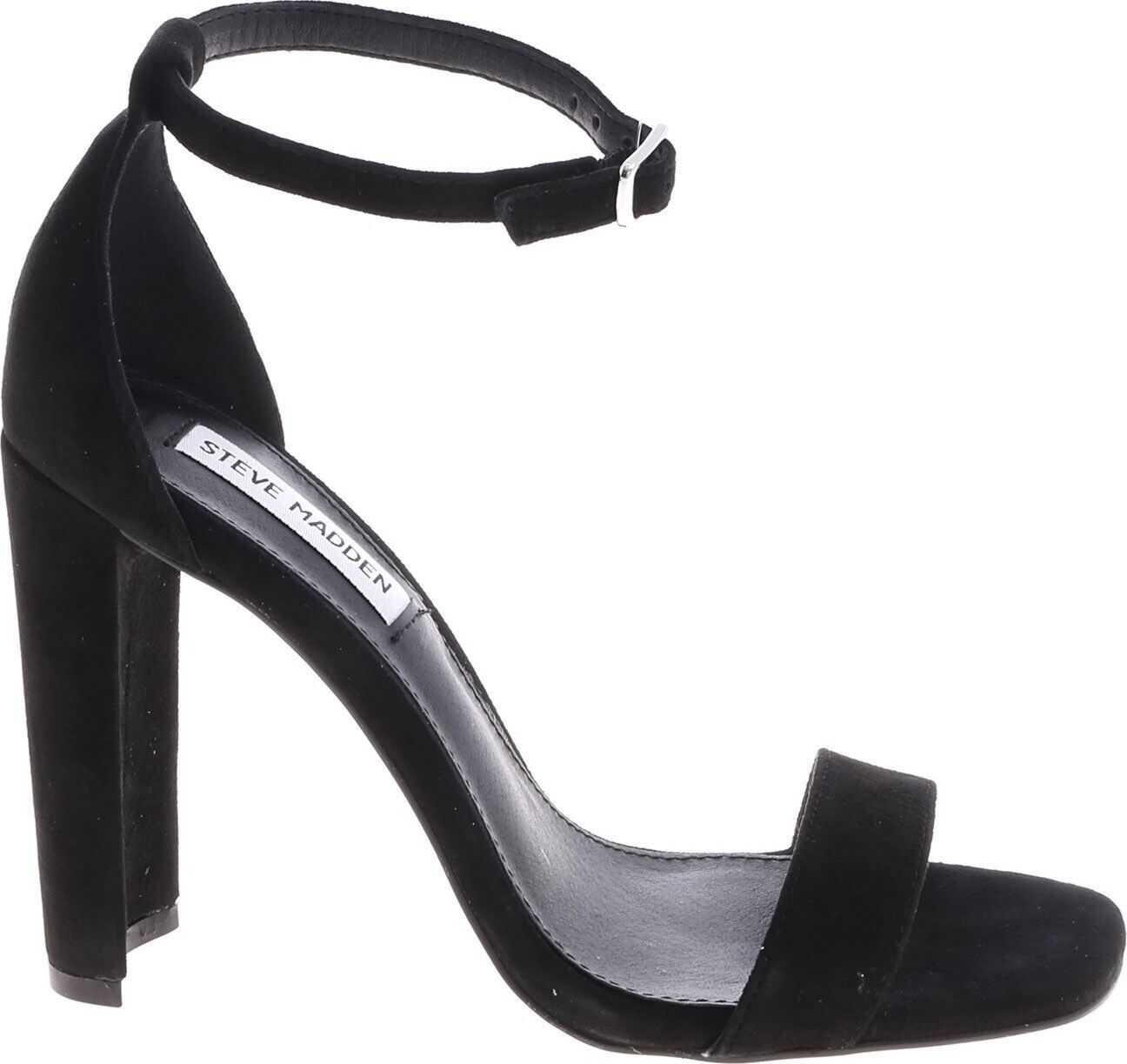 Steve Madden Franky Sandals In Black Black