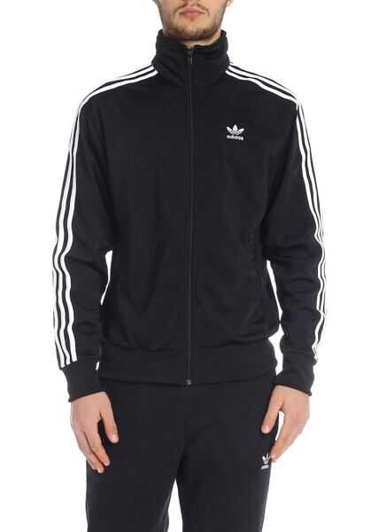 adidas Adidas Originals Firebird Sweatshirt In Black Black Boutique Mall