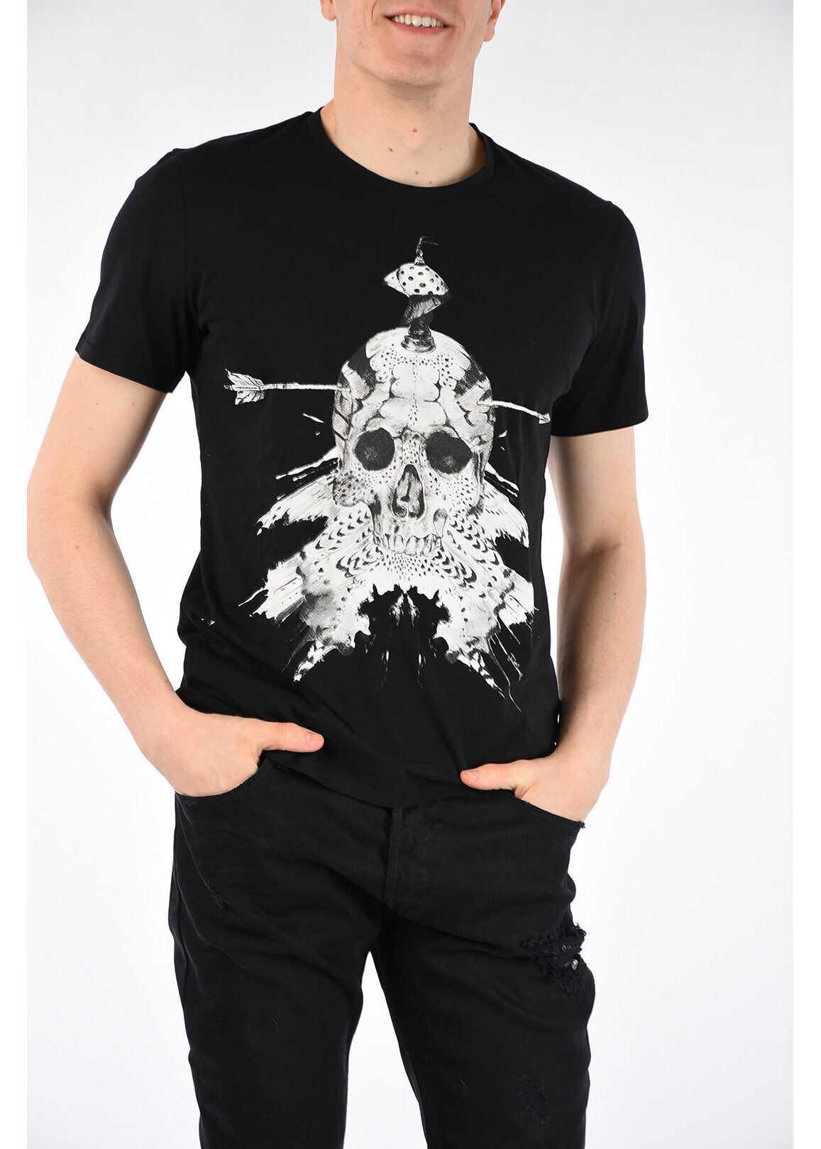 Skull Printed T-shirt