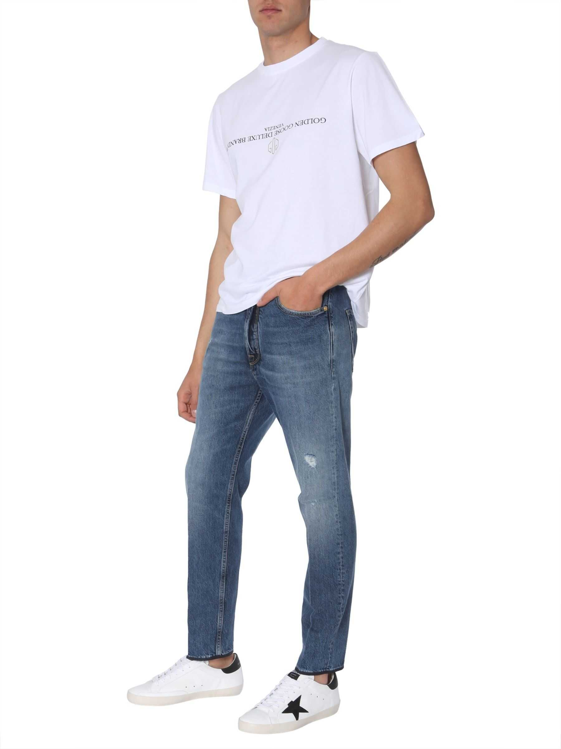 Golden Goose Happy Jeans BLUE