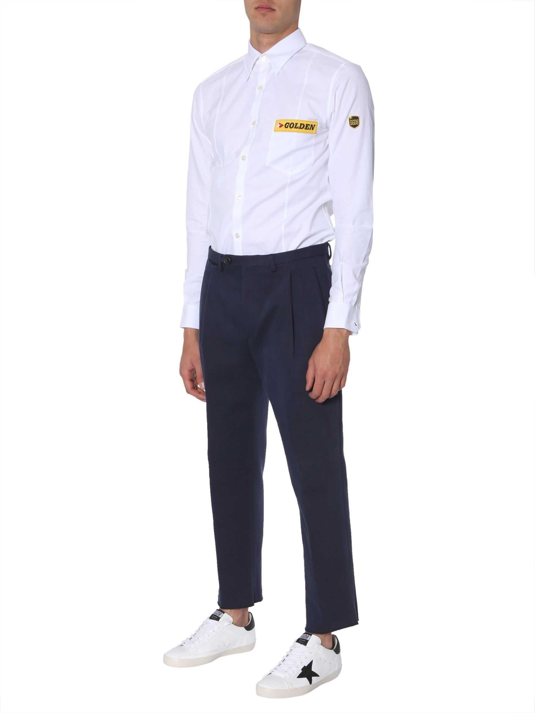Golden Goose Golden Shirt WHITE