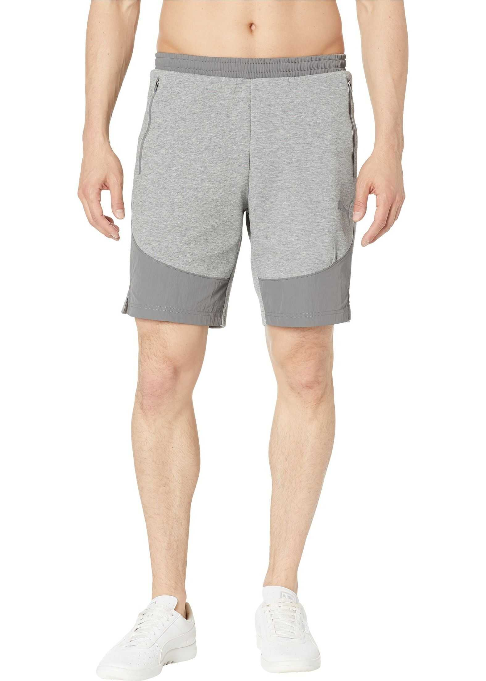 PUMA Evostripe Lite Shorts Medium Gray Heather