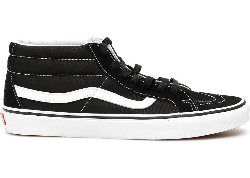 Vans Sk8-Mid Reissue B Sneakers BLACK TRUE WHITE