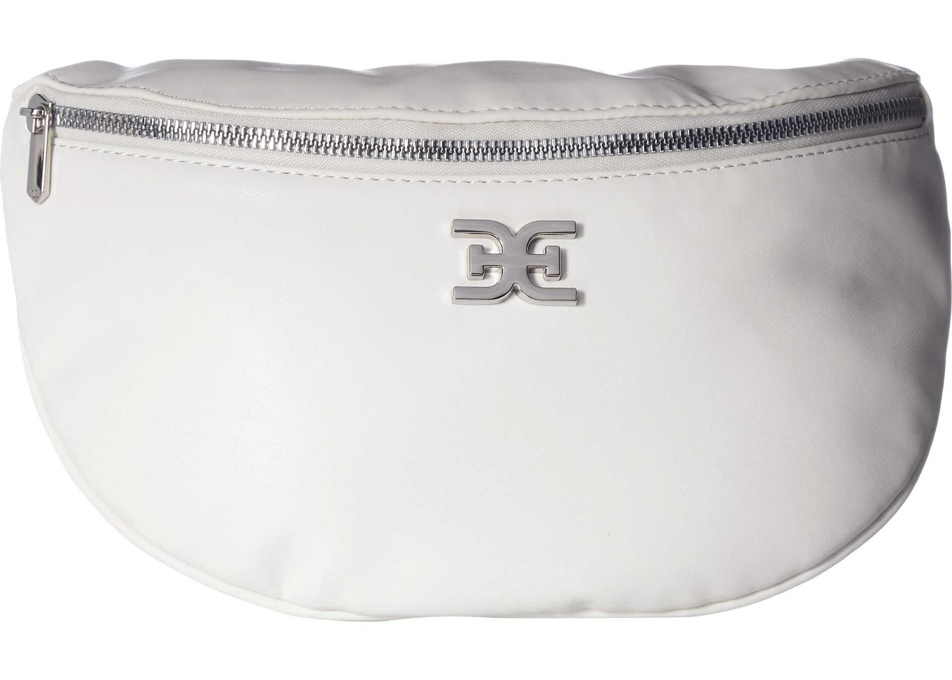 Sam Edelman Sophia Large Belt Bag White