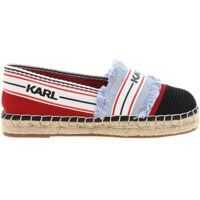Espadrile Karl Lagerfeld Kamini Espadrillas In Red And Denim
