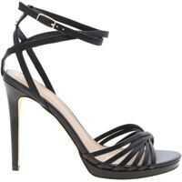 Sandale Tonya Sandals In Black Leather Femei