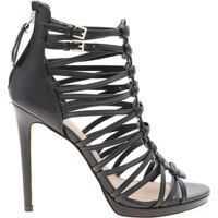 Sandale Taavi Sandals In Black Leather Femei
