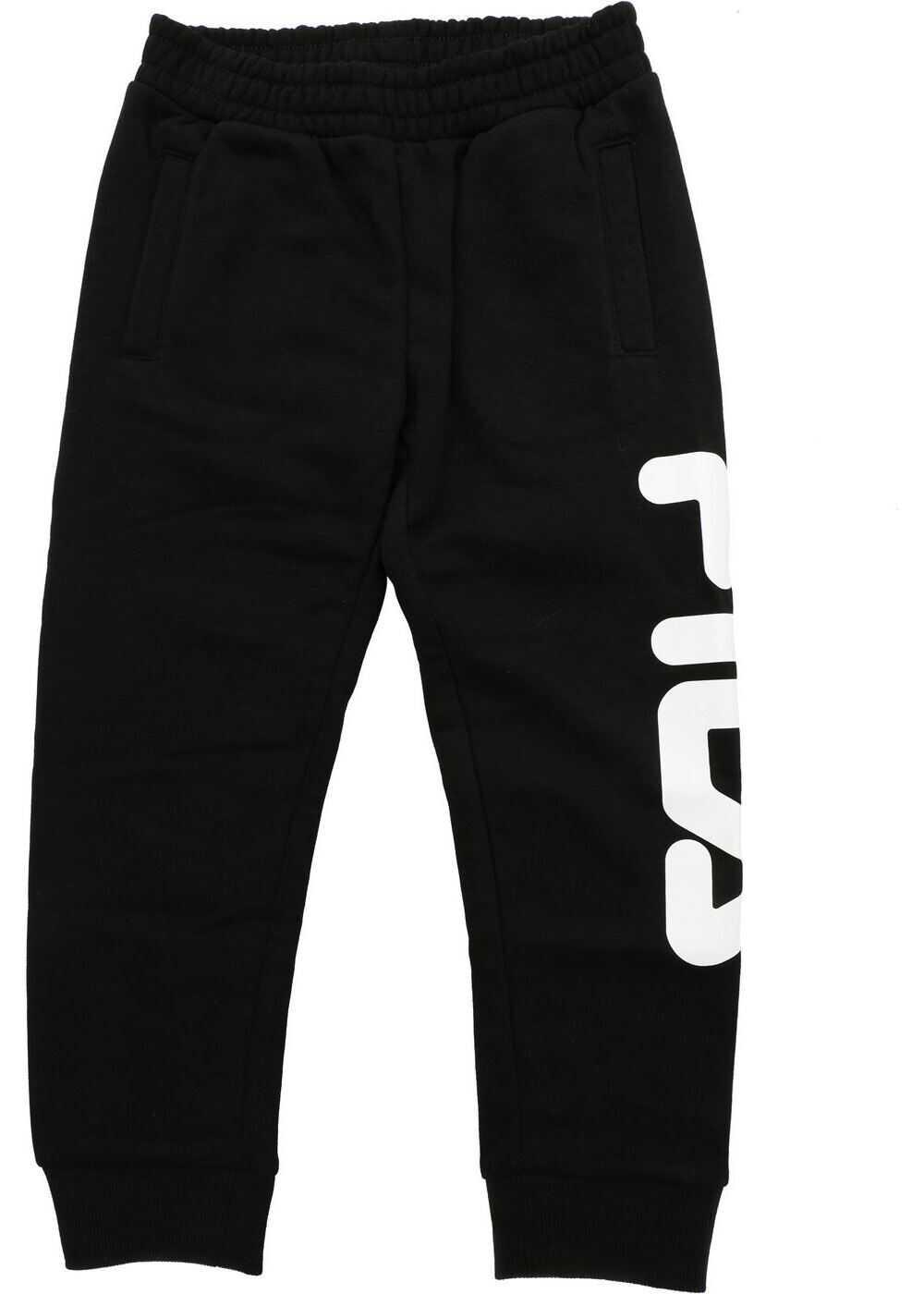 Fila Classic Basic Trousers In Black Black