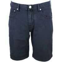 Pantaloni scurti 5 Pockets Bermuda In Blue With Logo Barbati