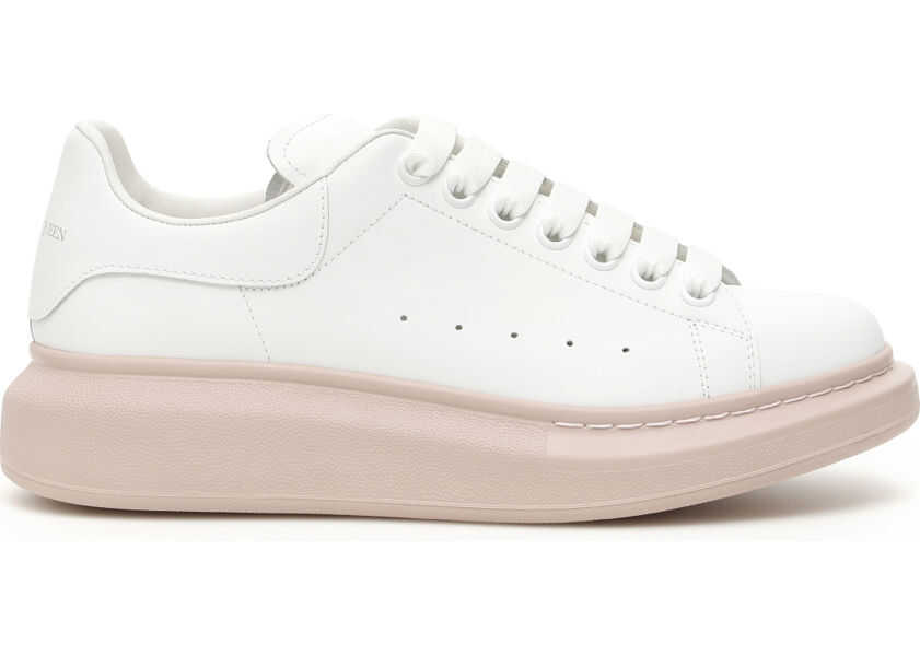 Alexander McQueen Oversize Sneakers - WHITE PATCHOULI - Boutique Mall