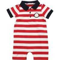 Trusouri Red And White Striped Rompersuit Baieti
