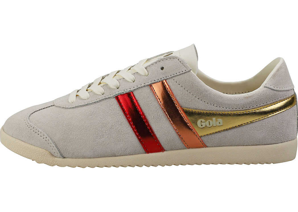 Gola Bullet Flare Classic Trainers In Off White Multicolour White