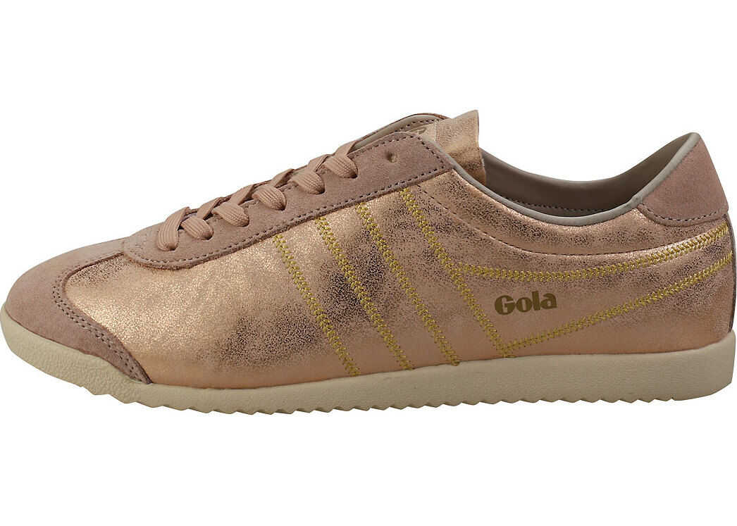 Gola Bullet Lustre Shimmer Casual Trainers In Blush Pink Pink