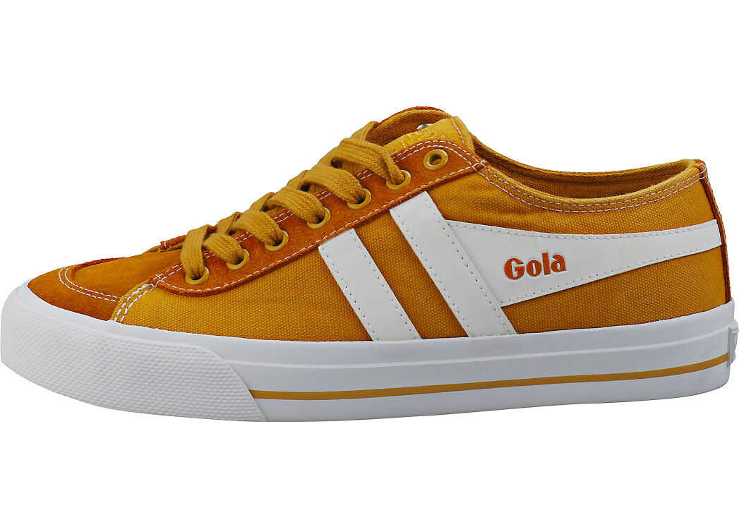 Gola Quota 2 Casual Trainers In Sun Yellow