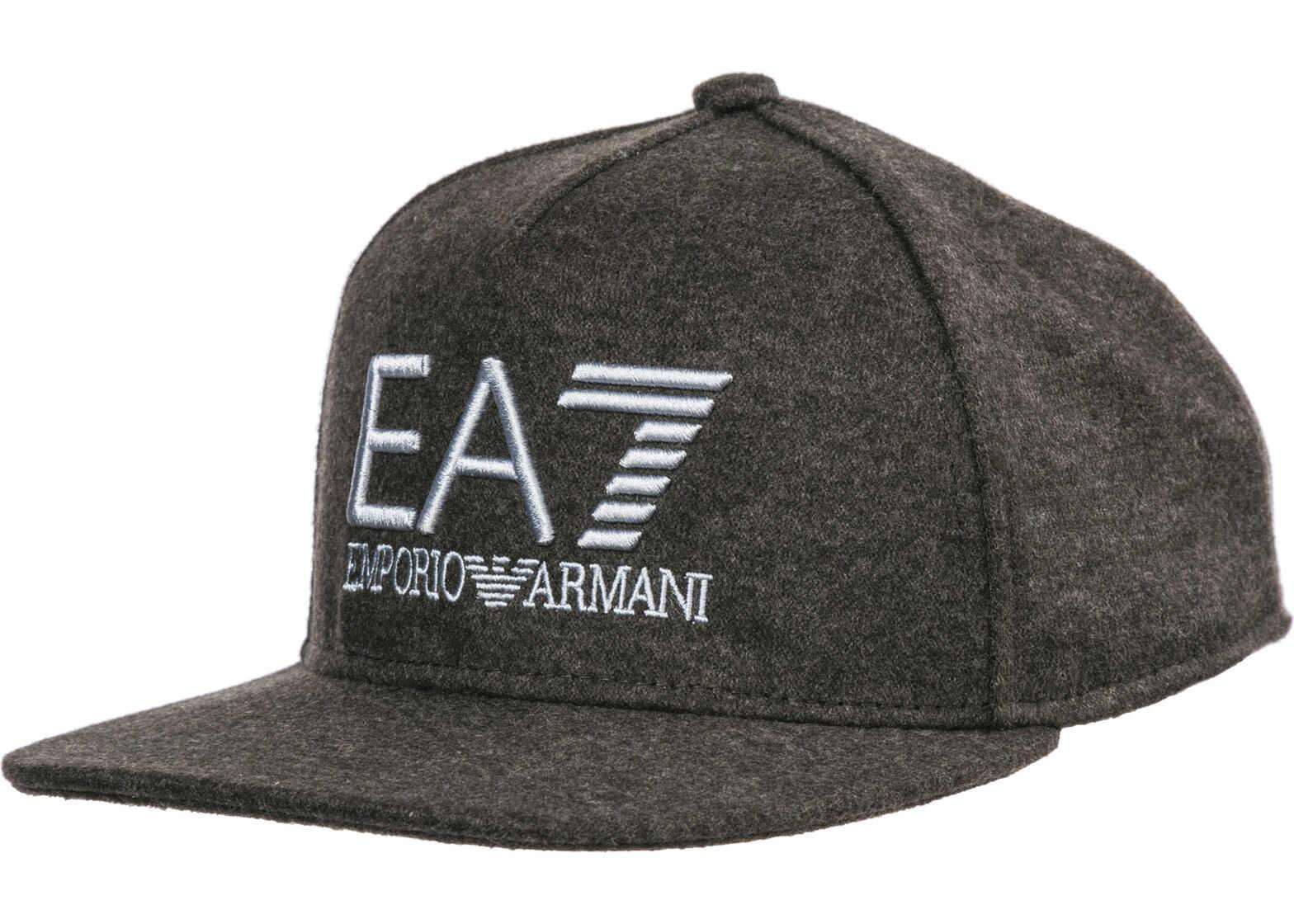 EA7 Baseball Cap Grey