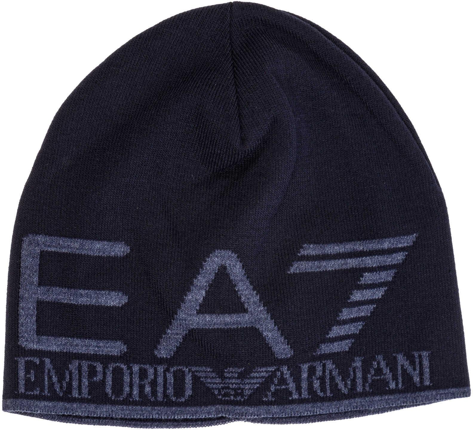 EA7 Beanie Hat Blue