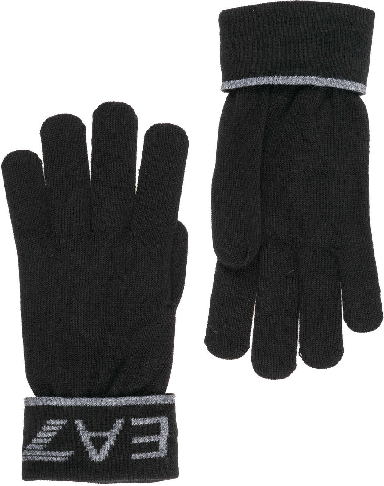 EA7 Gloves Black