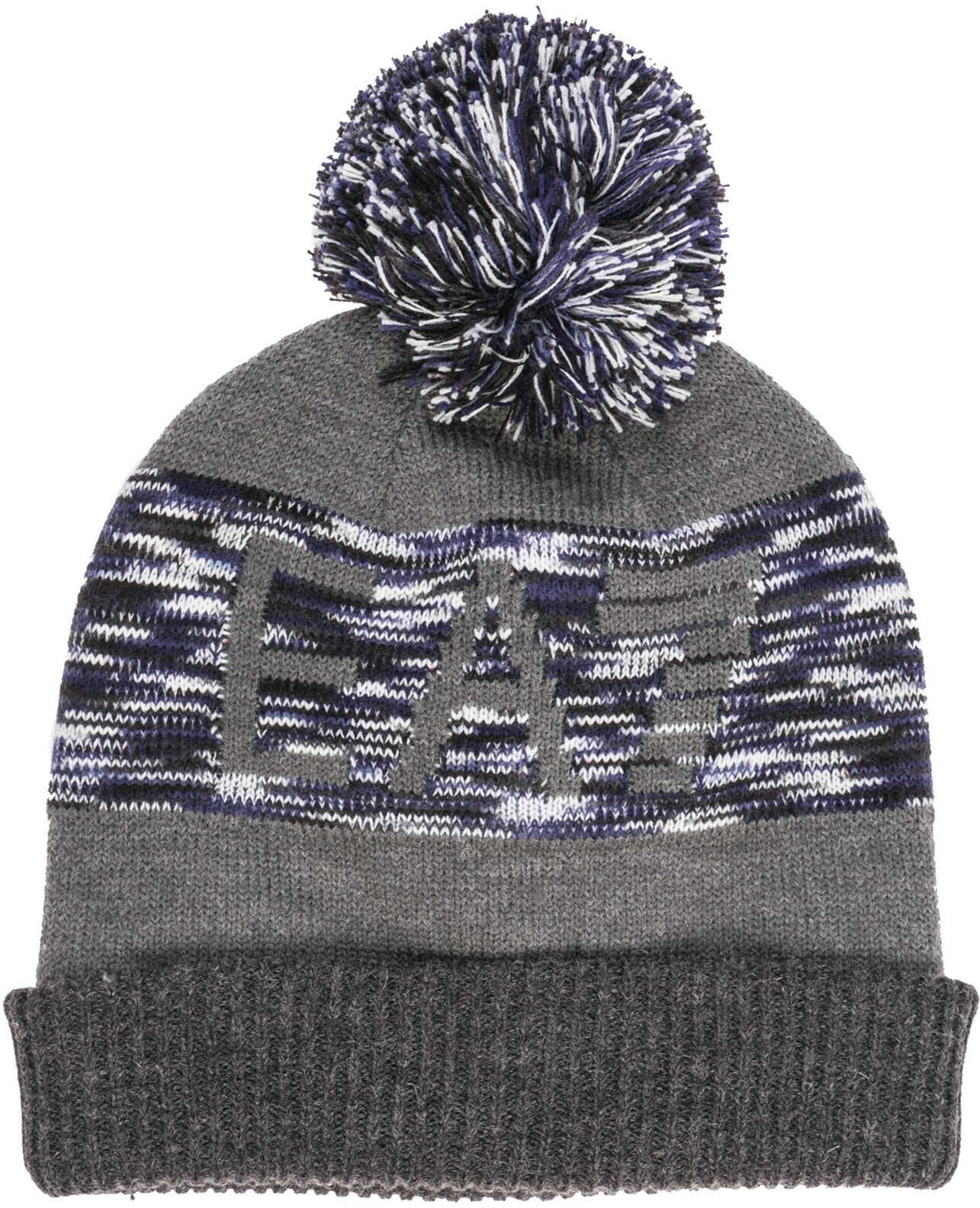 EA7 Beanie Hat Grey