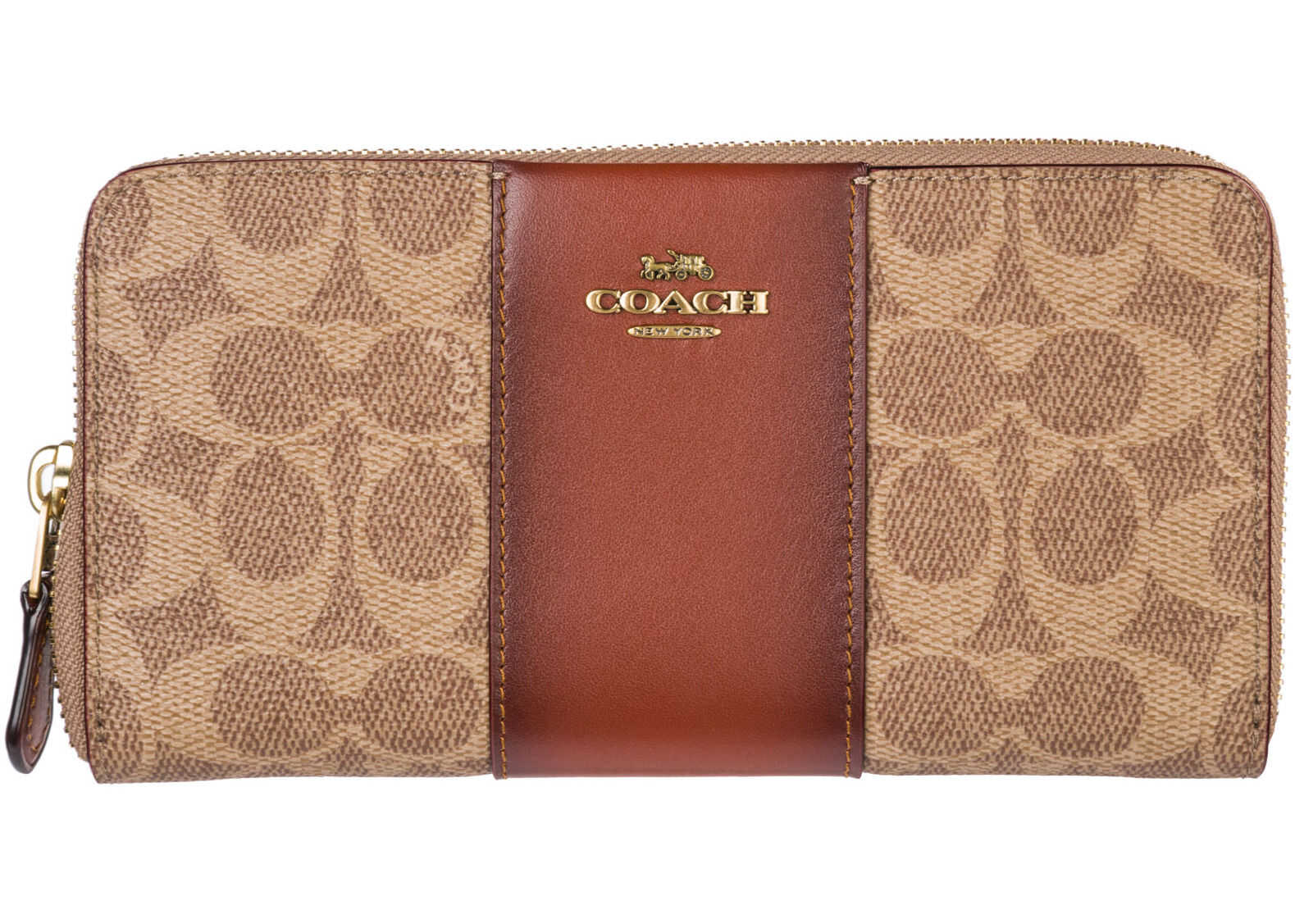 COACH Card Bifold Brown