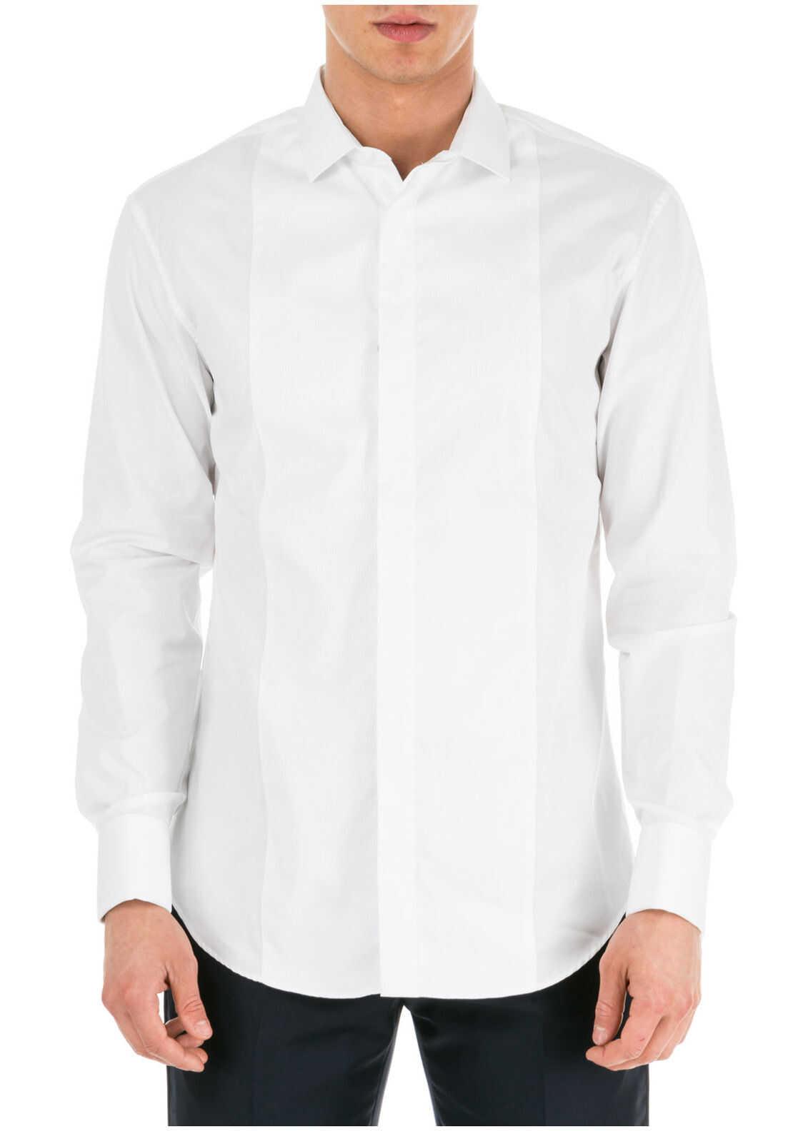 Emporio Armani Dress Shirt White imagine