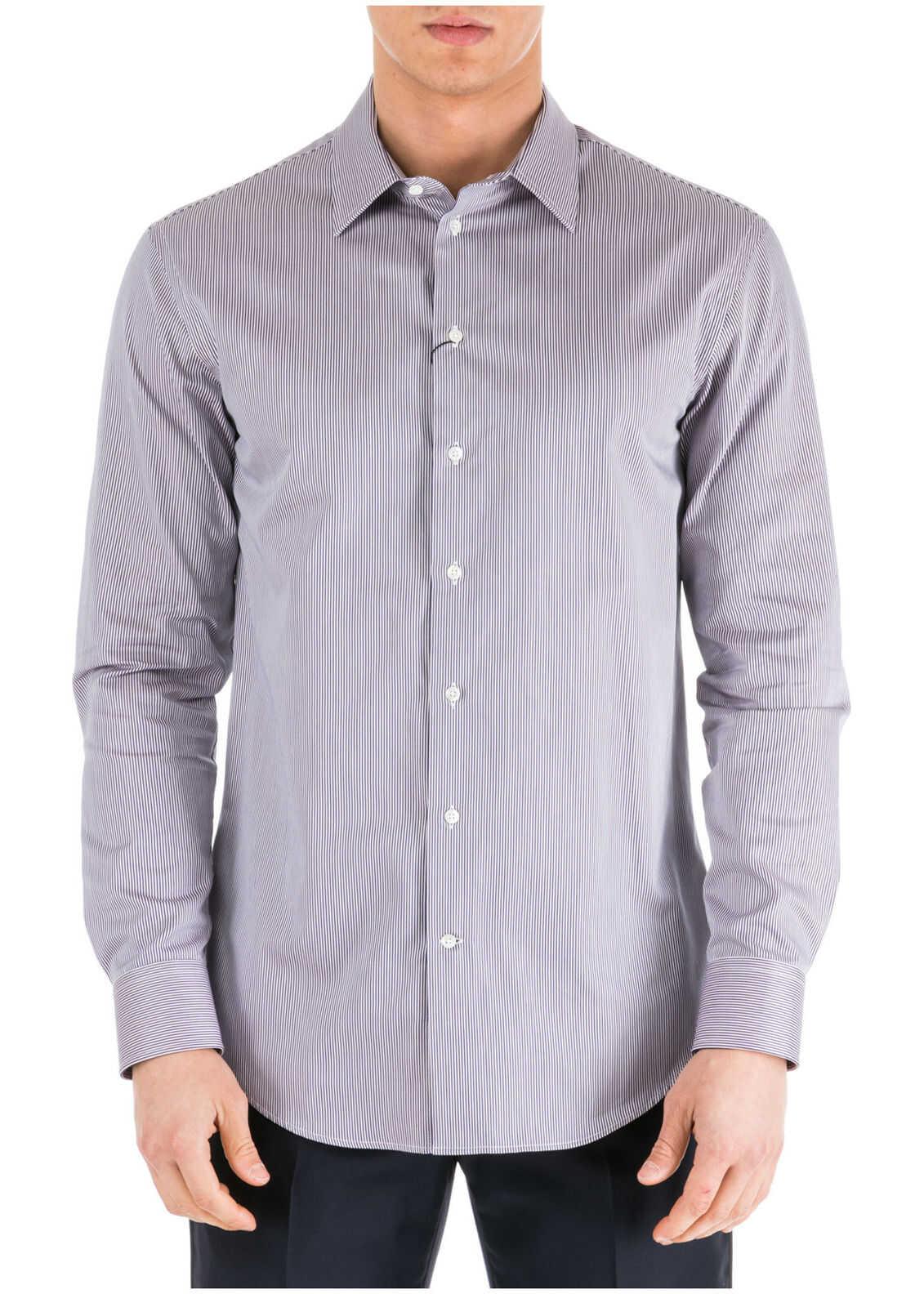 Emporio Armani Dress Shirt Blue imagine
