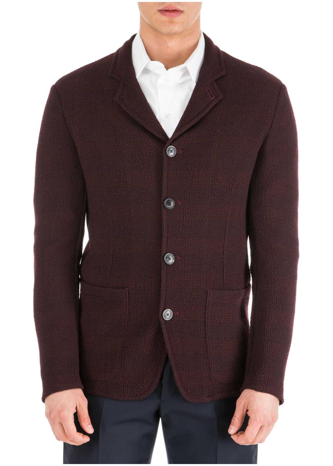 Emporio Armani Jacket Blazer Red