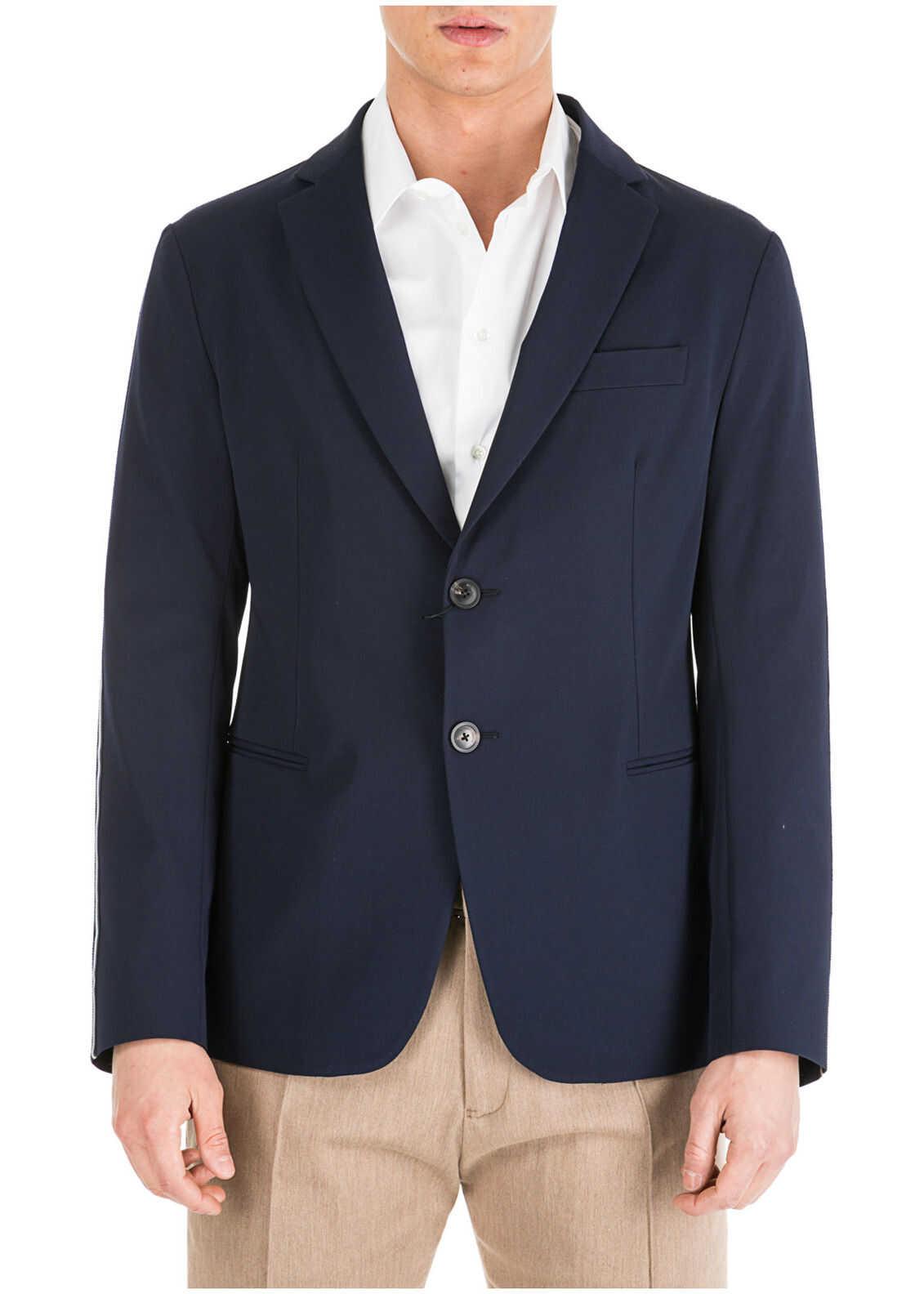 Emporio Armani Jacket Blazer Blue
