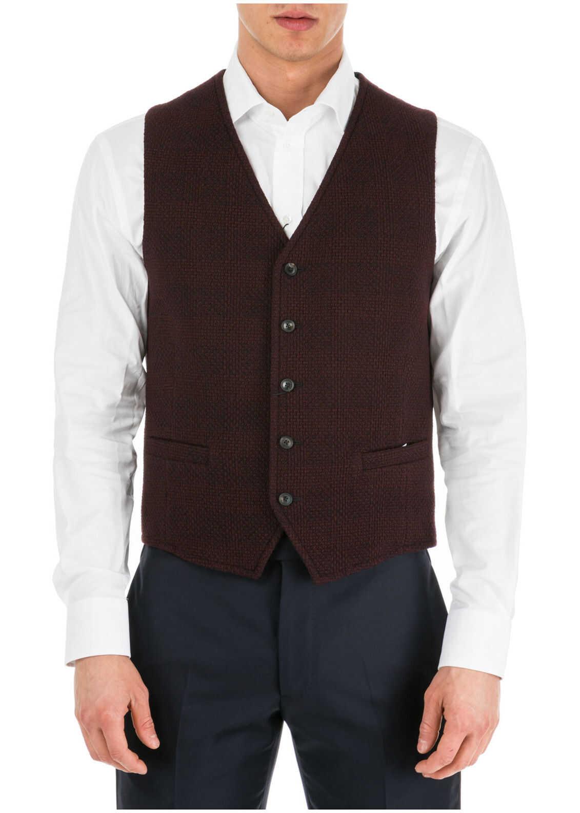 Emporio Armani Waistcoat Vest Red