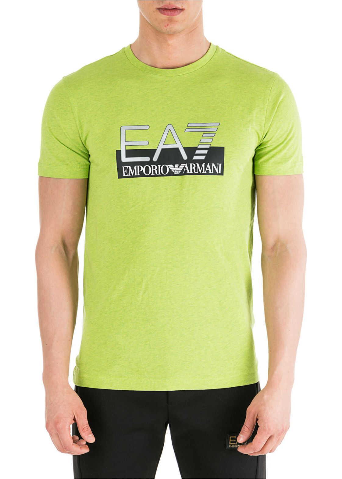 EA7 Neckline Jumper Green