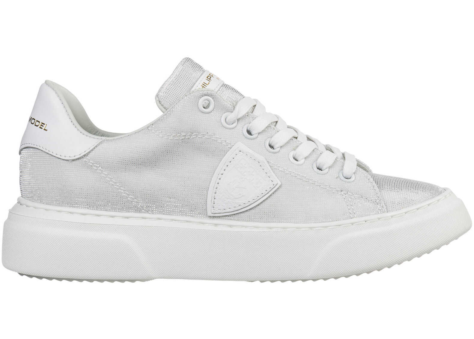 Philippe Model Sneakers Temple Silver